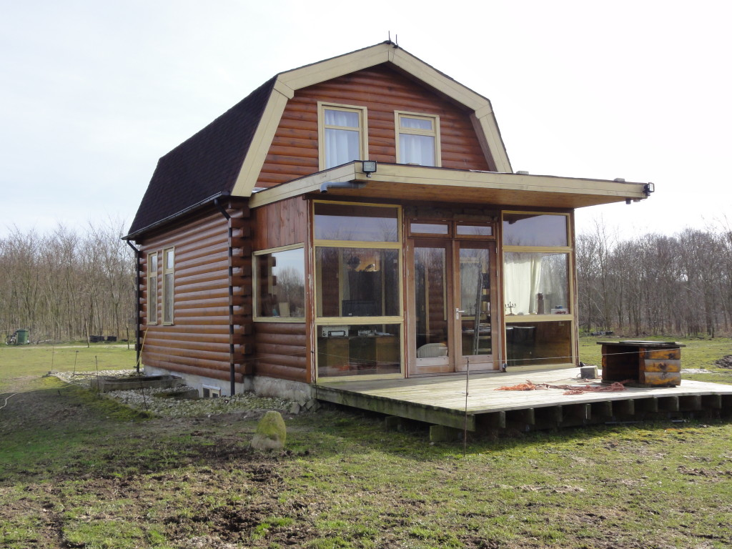 log home chalet huis 015